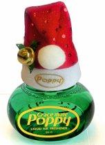 Poppy Luchtverfrisser Pine met kerstmuts - Poppy Grace Mate - Poppy - Poppy Luchtverfrisser - Kerstmuts met Poppy - Originele kerstmuts - Vrachtwagen Accessoires - Luchtverfrisser Huis - Wonen - Boot - WC