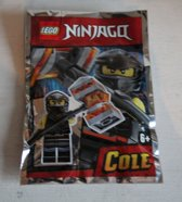 Lego Ninjago minifigure COLE (polybag)