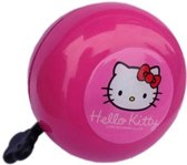 Hello Kitty Ding Dong - Fietsbel - 80 mm - Roze