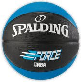 Spalding Basketbal Force - Maat 7 - Outdoor - Blauw/Zwart