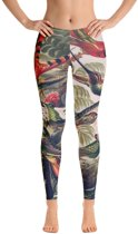 Relax - Dames Leggings - Yoga & Fitness - Sneldrogend - Vintage