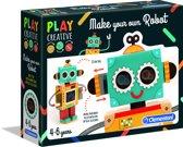 Clementoni - Play Creative - Maak Je Eigen Robot - Hobbypakket