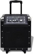 Draagbare karaoke speaker met bluetooth & microfoon