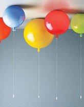 Ballonlamp plafond 30CM Oranje