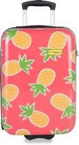 BHPPY Handbagagekoffer - 55 cm - Pretty Pineapple