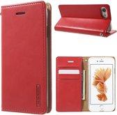 Goospery PU Leren Wallet iPhone 7/8 - Rood