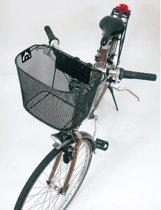 Bicycle Gear - Fietsmand - Metaal - 15l - Zwart