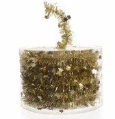 Kerstboom folie slinger goud 700 cm - sterren kerstslingers