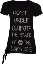 Star Wars Rogue One – Don't Underestimate the Dark Side Female t-shirt S
