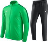 Nike Academy 18 Trainingspak Heren - Maat M - Groen/Zwart