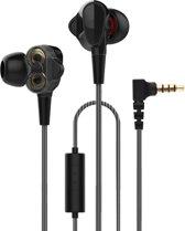 In-Ear Oordopjes met 3.5mm Jack - Premium Oortjes voor Samsung Galaxy / Apple iPhone / Huawei