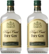 Kings Court London Dry - 70 cl- 2-pack
