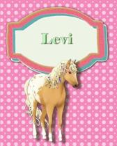 Handwriting and Illustration Story Paper 120 Pages Levi