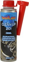Tecflow Clean Up 201 Diesel - Onderhoud injector, zuiger, kleppen, turbo, brandstof systeem reiniger