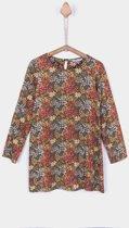 Tiffosi-meisjes-kleed, jurk, tuniek-Troppys-kleur: groen, multicolor-maat 164