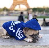 Hondentrui - Hoodie Adidog - Blauw - M