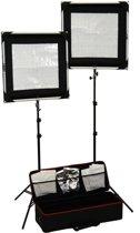 Caruba Complete All-in-1 Lichtset (inclusief o.a. 2 Flexibele LED panelen)