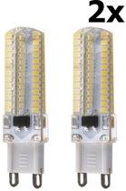 2 Stuks G9 10W Koud Wit 96LED`s SMD3014 LED Lamp AL300-10CW