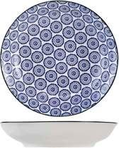 Cosy&Trendy Tavola Blue diepbord Ø 20,5 cm - Set-6