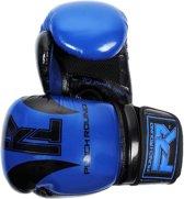 Punch Round Bokshandschoenen SLAM Blauw Zwart 14 OZ Bokshandschoenen