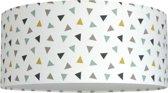 Plafondlamp Roozje - Triangle confetti multicolor - 35cm