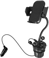Macally Car cup holder mount w. USB charger iPhn/smartphn