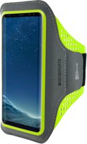 Mobiparts Comfort Fit Sport Armband Samsung Galaxy S8 Neon Green