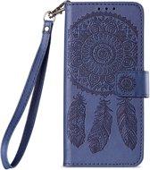 Shop4 - Samsung Galaxy S9 Hoesje - Wallet Case Dromenvanger Blauw