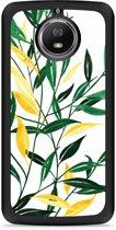 Moto G5S Hardcase Hoesje Watercolor Flowers