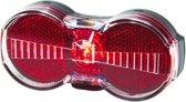 Busch & Müller - Toplight Flat S senso - Fietsachterlicht - LED - Transparant/Wit