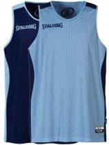 Spalding - essential - reversible shirt - Maat M - L blauw - D blauw