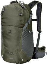 Jack Wolfskin Backpack - Unisex - groen/grijs