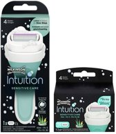 Wilkinson Intuition Sensitive Care - Houder + Navulling