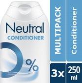 Neutral 0% Parfumvrije Conditioner - 3 x 250 ml