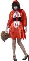 Zombie Little Miss Kapje Kostuum Rood