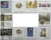 Condoleance kaarten - Rouwkaarten - Set van 10--L-023