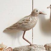 LOBERON Vogel, set van 2 Klenia grijs
