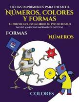 Fichas imprimibles para infantil (Libros para ni os de 2 a os - Libro para colorear n meros, colores y formas)