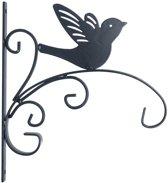 Muurhaak vogel h28x30cm