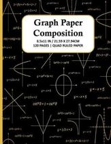 Graph Paper Composition Notebook: Quad Ruled 5x5 Grid Paper for Math & Science Students, School, College, Teachers - 5 Squares Per Inch, 120 Squared S