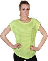 Dames T-shirt van Elle Sport - lime