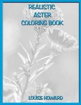 Realistic Aster Coloring Book