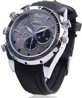 Spy Camera Horloge, FullHD, 16GB, Nachtvisie - Spy Watch