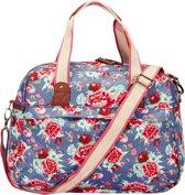 Basil Bloom Carry All Bag - Enkele Fietstas - 18 l - Indigo Blauw