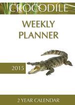Crocodile Weekly Planner 2015