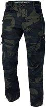 Camouflage broek groen maat XL