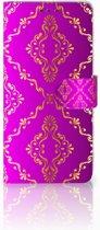 Huawei Mate 20 Uniek Boekhoesje Barok Roze