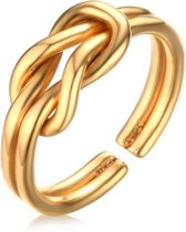 Cilla Jewels ring Infinity Knot Gold-16mm