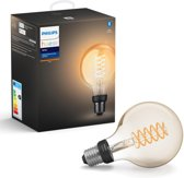 Philips Hue Filament Lamp - White - G93/E27 - losse lamp - Bluetooth
