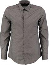 Antony morato grijs slim fit overhemd valt kleiner - Maat 46